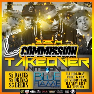 COMMISSION TAKEOVER